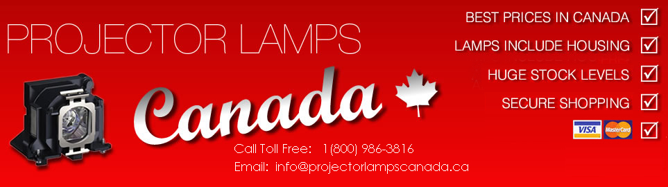 Projector Lamps Canada is Canada's Best Value, Most Efficient Projector Lamp Supplier